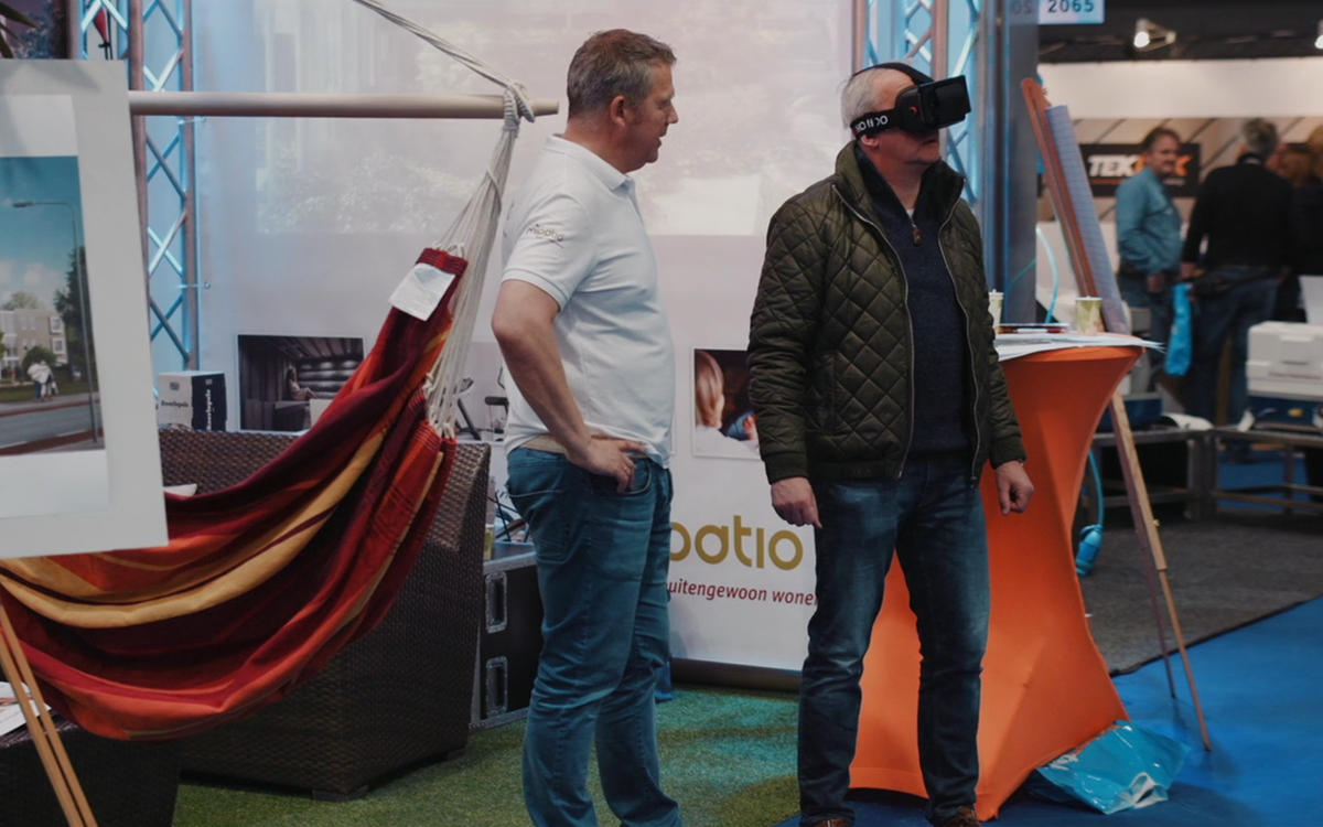 Virtual Reality op Boot Holland beurs
